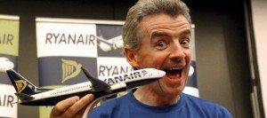 El presidente de Ryanair en la presentación de la base -  Elpais.com
