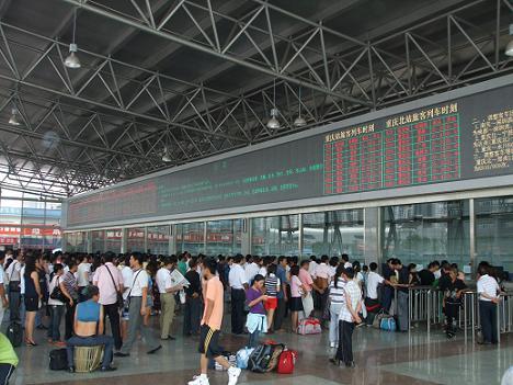 Estaciones de tren China