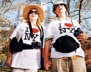 Tipos de Viajeros - Turistas en Nueva York
