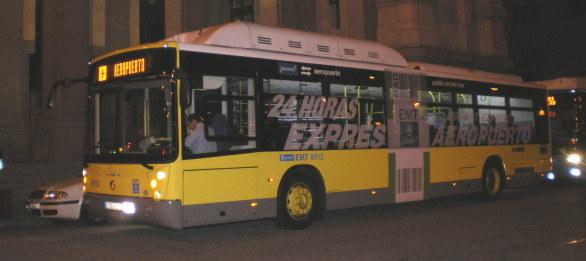 Autobús Cibeles aeropuerto