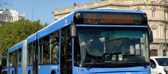 Autobús 27 de Madrid