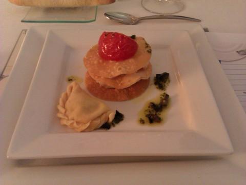 Gastronomía del Algarve - Milhoja de bacalao
