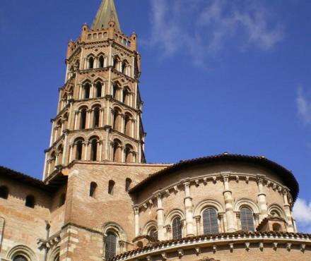Iglesias de Toulouse - Basílica de Saint Sernin