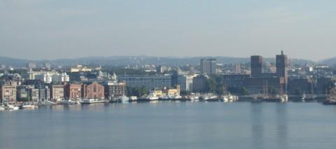Oslo desde el mar