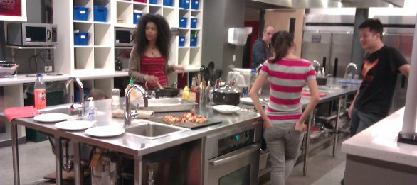 Cocina albergue HI Boston