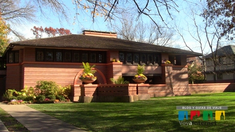 Frank Lloyd Wright - Arthur Heurtley House