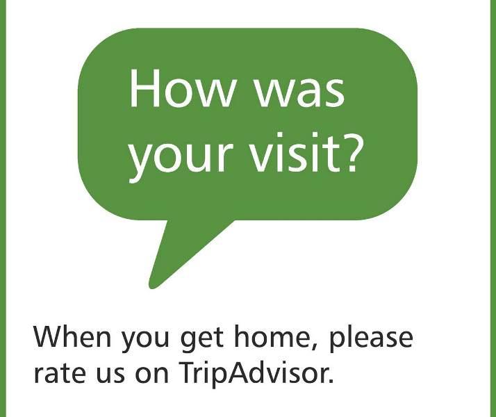 Comentarios negativos en TripAdvisor.