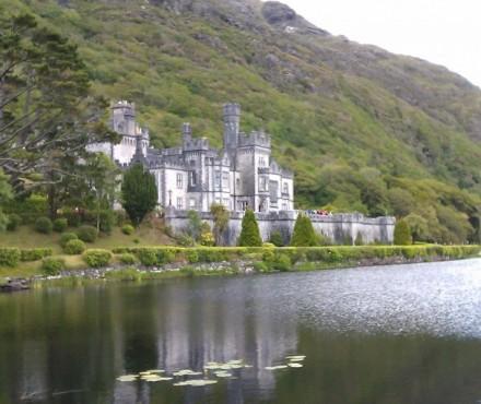 Abadía Kylemore, en Connemara.